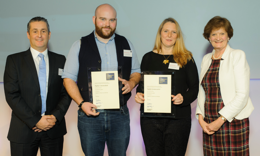 Groundwork London wins Highly Commended Prize at LI Awards 2015